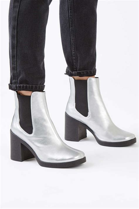 barnaby heeled chelsea boots topshop europe