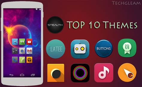 icon themes for android top 10 newest android themes of 2014 techgleam
