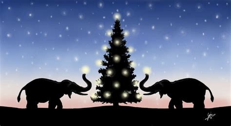 images of christmas elephants christmas elephants by gjones1 on deviantart