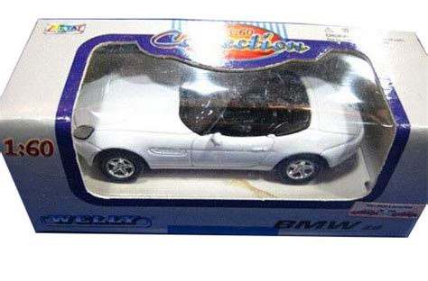 Mainan Diecast Welly 160 welly white 1 60 scale diecast bmw z8 nb9t993 ezbustoys