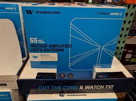 winegard flatwave indoor amplified hdtv antenna