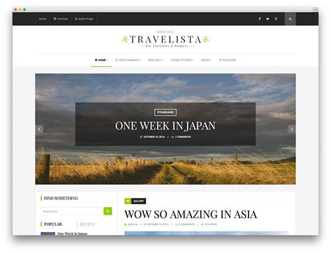 templates blogger travel 15 wordpress themes for travel bloggers geeks zine