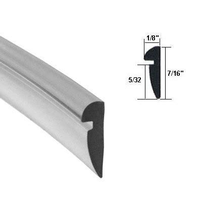 Shower Door Spline Clear 7 16 Quot Wide Glazing Spline 18 Ft Roll Shower Enclosures Doors