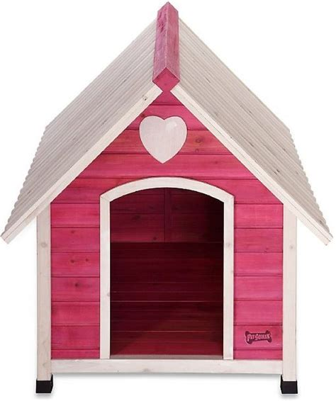 princess dog house pet squeak princess pad dog house large chewy com