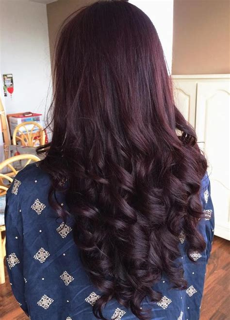 burgundy brown hair color 45 shades of burgundy hair burgundy maroon