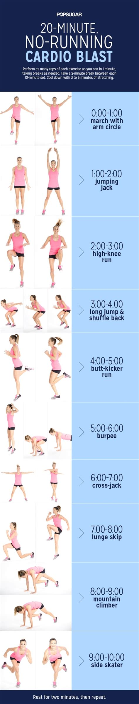 how to do cardio workout at home most popular workout