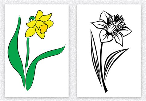single flower tattoo designs 13 daffodil designs and their meanings