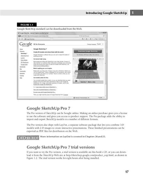 google sketchup self paced tutorial google sketch up and sketchup pro 7 bible tqw darksiderg