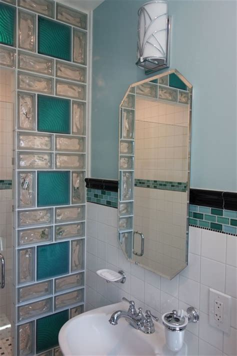 glass cubes for bathroom multi patterned glass block shower wall with color in san