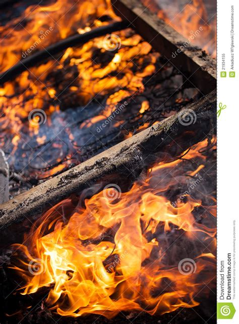 bed on fire bed on the fire royalty free stock photo image 21934155