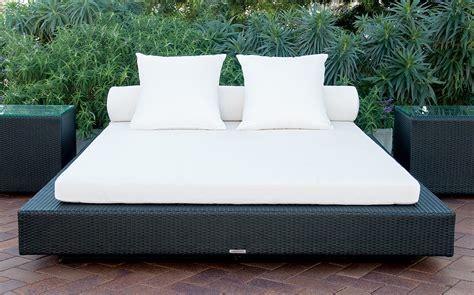 double platform bed modern outdoor furniture