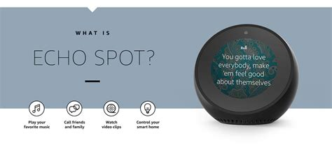 echo spot the complete user guide learn to use your echo spot like a pro echo spot setup tips and tricks books introduces new echo echo plus and echo spot