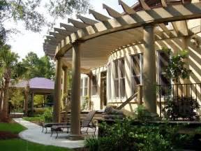 Ideas For Pergolas by Attached Pergola Design Plans Home Design Ideas