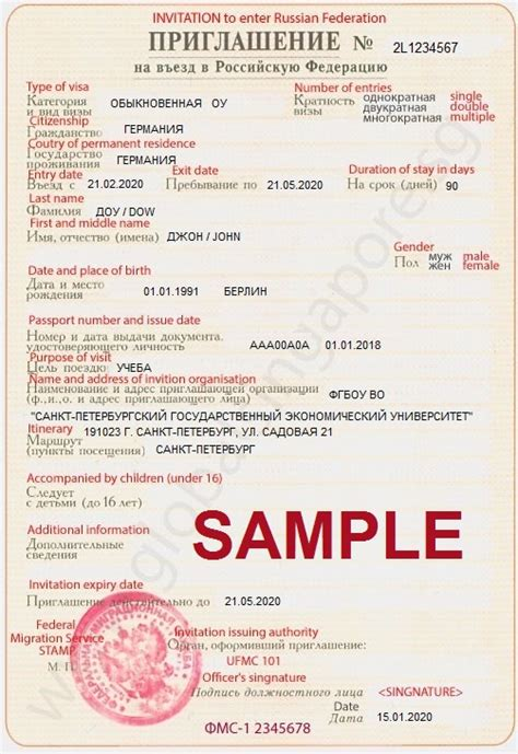 Invitation Letter For Visa Greece Visa Of Russia From India Kalmykia Us