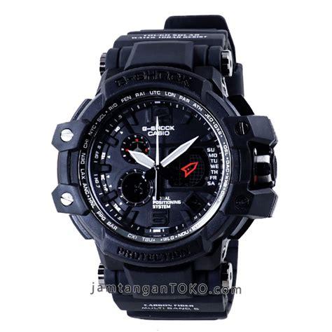 G Shock Gpw1000 Casio Black Gold Hitam Jam Tangan Pria Dual Ti harga sarap jam tangan g shock gpw 1000 1b black kw1