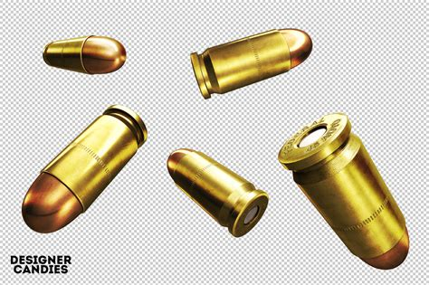 the 3d bullet renders pack designercandies