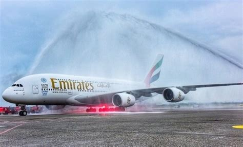 emirates water emirates launches the world s shortest route with biggest