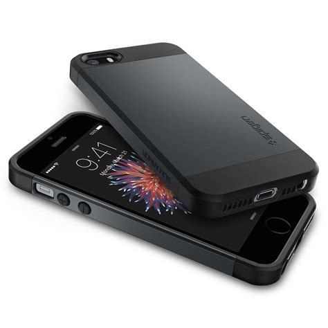 Iphone 4 4g 4s Spigen Slim Armor Hardcase Cover Bumper Aksesoris 1 iphone se slim armor spigen inc