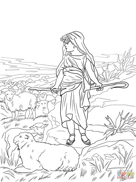 David The Shepherd Boy Coloring Pages Printable David The Shepherd Boy Coloring Page Free Printable by David The Shepherd Boy Coloring Pages Printable