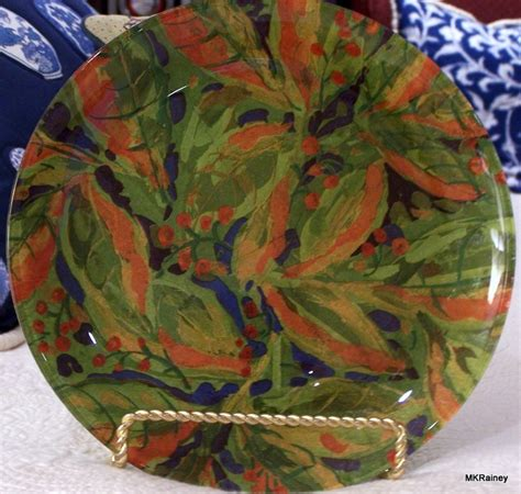 Decoupage With Leaves - 1000 images about decoupage plates on cabbage