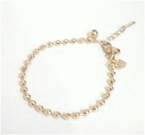 Gelang Tangan Xuping 1 jual gelang tangan xuping biji lada emas besar modern aksesoris