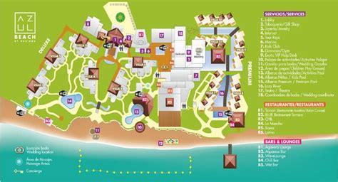 azul resort map resort map azul riviera