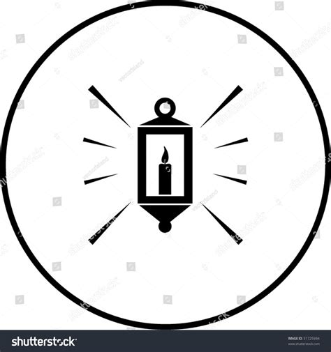 stock candele candle l symbol stock vector 31725934