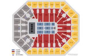 American Airlines Arena Floor Plan us airways center seating charts