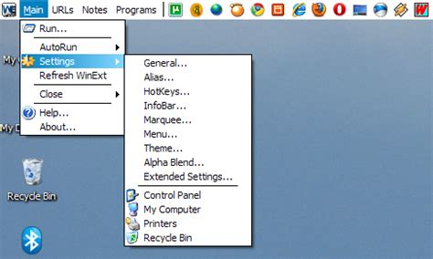windows top bar winext gnome like horizontal top bar for windows
