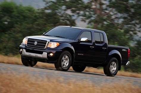 Buy A Suzuki Should You Buy A Nissan Frontier Or A Suzuki Equator
