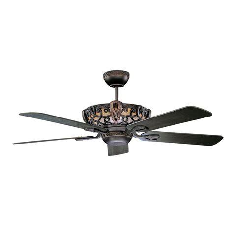 radionic hi tech azulla 52 in rubbed bronze ceiling