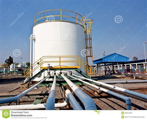 chemical storage tank  pipe   stock photo image