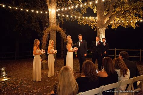 The French Bouquet Blog inspiring wedding & event florals » A Romantic Evening Wedding Outdoors