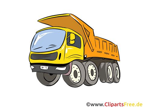 clipart auto lkw kipper illustration bild clipart autos