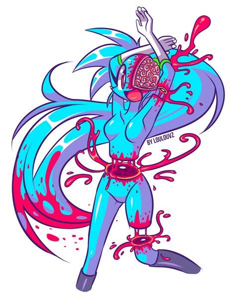 imagenes anime gore kawai spaicy kawaii gore by loulouvz on deviantart