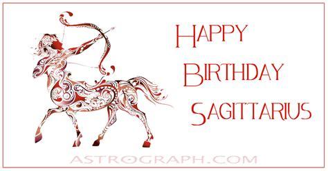 astrograph happy birthday sagittarius