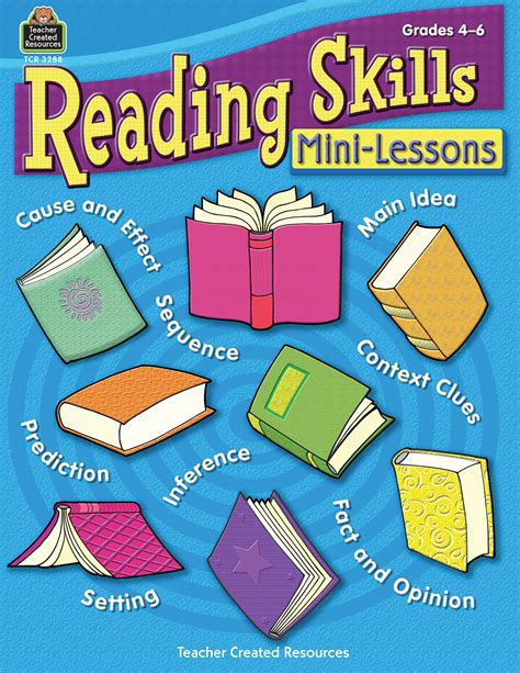 The Reading Lessons reading skills mini lessons tcr3288 created