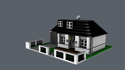 house 3d modern house 3d model dae c4d