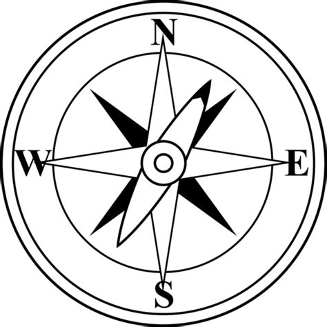 line drawing compass clipart best free compass clip art pictures clipartix