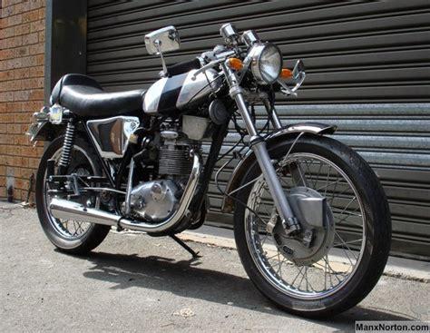 Bsa B25ss Goldstar 250cc Cafe Racer