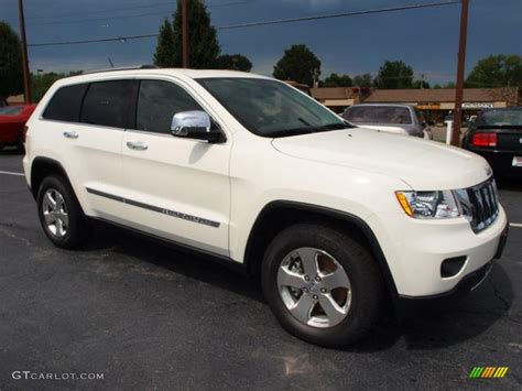White Jeep Grand 2012 White 2012 Jeep Grand Limited 4x4 Exterior