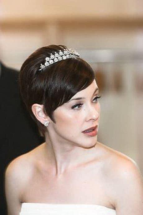 bridal hairstyles very short hair bride hairstyles for short hair