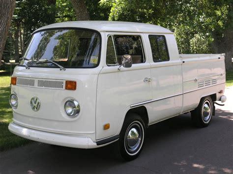 vw minivan 1970 1970 volkswagen t2 double cab german cars for sale blog