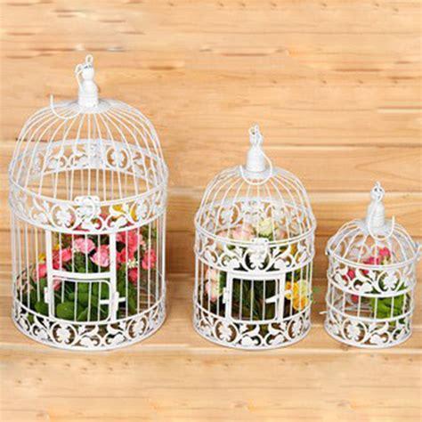 Hand Made Fashion Large Antique Decorative Bird Cages Birdcage Centerpieces Wholesale