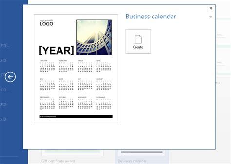 can i make a calendar in word 2013 make a business calendar with microsoft word 2013