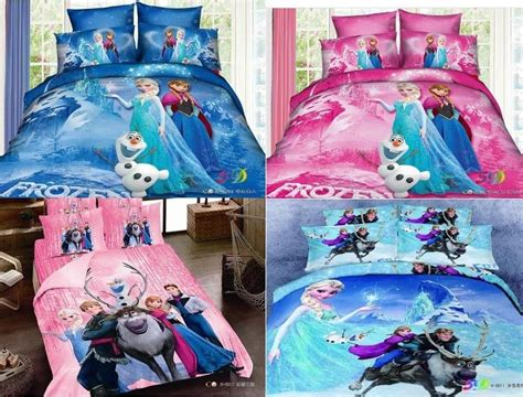 frozen queen comforter set disney frozen elsa anna 100 cotton duvet cover bedding