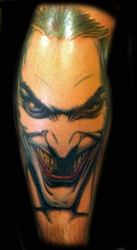 joker face tattoo designs wicked joker face tattoo design tattoos book 65 000