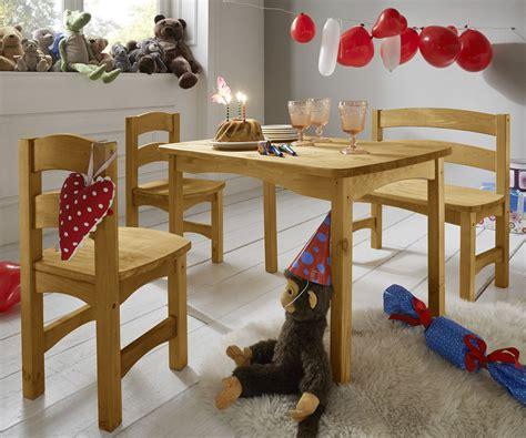 tisch kids sitzgruppe f 252 r kinder mit tisch bank und st 252 hlen kids