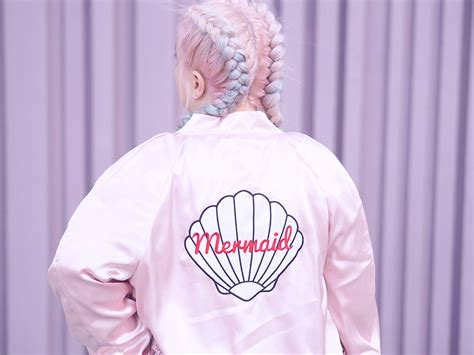 Florie Bomber Pink fashion mermaid by valfr 233 lazy