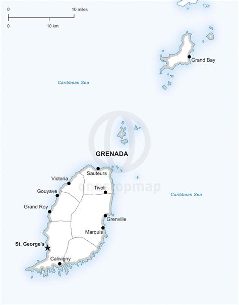 where is grenada located on a world map grenada location on the america map grenada
